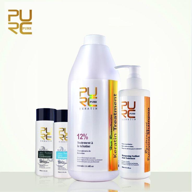 119.90$  Watch here - http://alij8u.worldwells.pw/go.php?t=32250233849 - PURC Straightening hair 1000ml 12% keratin treatment and 300ml purifying shampoo wholesale hair treatment and straighten hair