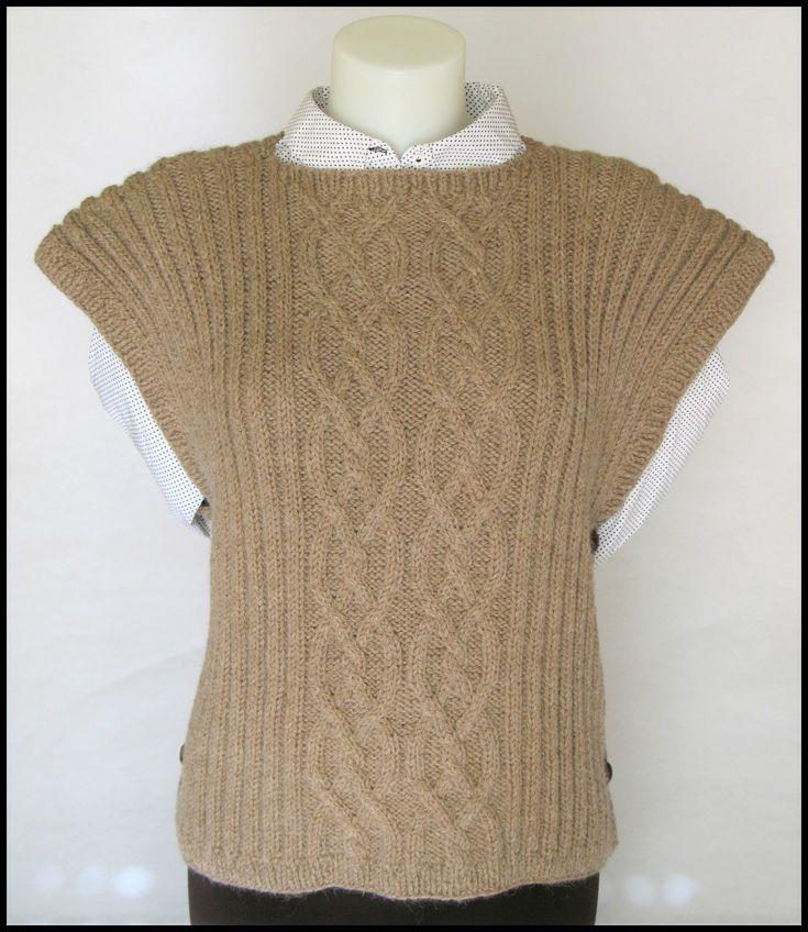 Poncho Lã Textura Tranças para mulher -  65% lã, 35% alpaca