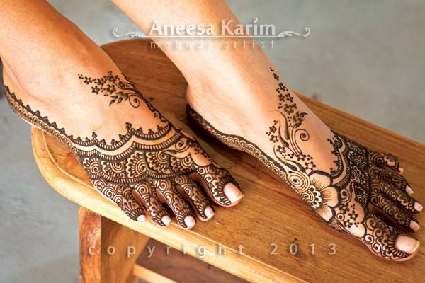 awesome henna by Aneesa Karim