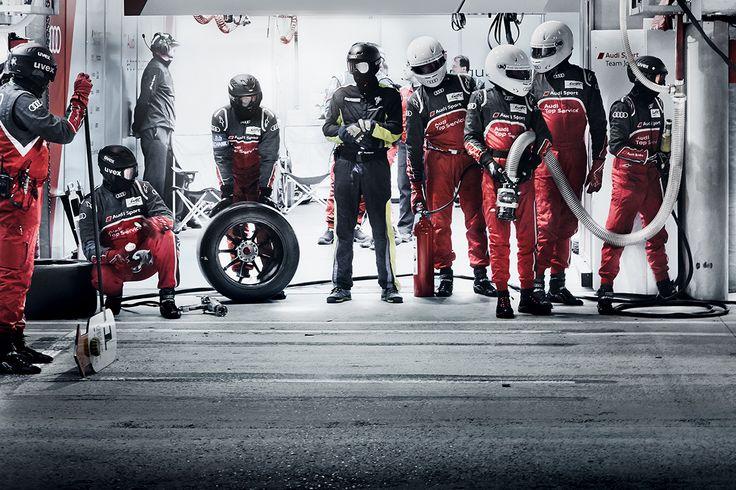 Audi Le Mans 2014 on Behance