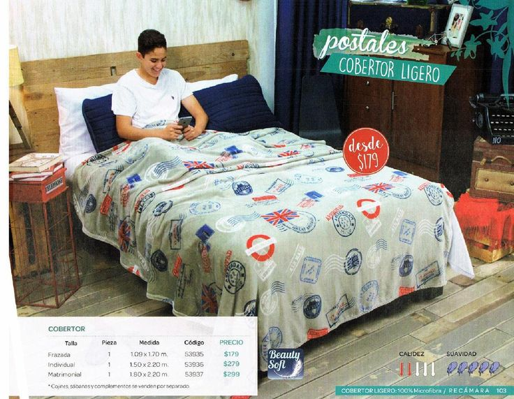 #ClippedOnIssuu from Catalogo Colchas Vianney VNG 2016