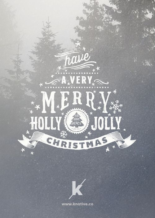 Have a very merry holly jolly christmas