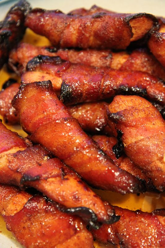 Sweet and Spicy Bacon Chicken. I've had this and it is delicious!!!!