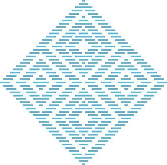 Kogin Embroidery Pattern: QuarkBeast Hypno
