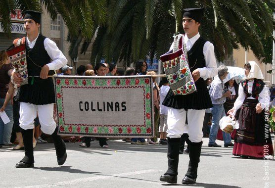 : Overview of Sardinian Costume Collinas