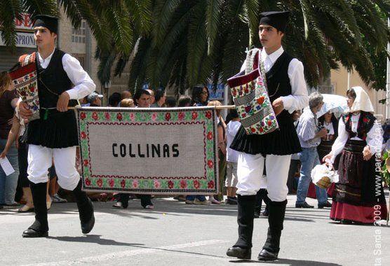 : Overview of Sardinian Costume Collinas