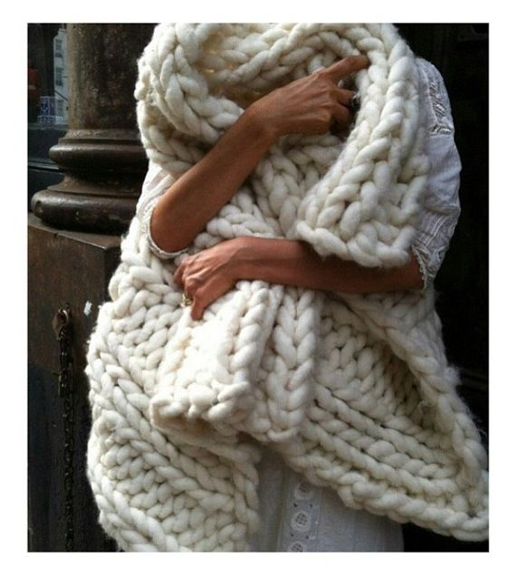 I can only imagine the knitting needles for this...