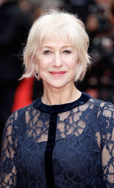 Helen Mirren Messy Cut - Helen Mirren rocked a messy pageboy at the 'Eye in the Sky' UK premiere.