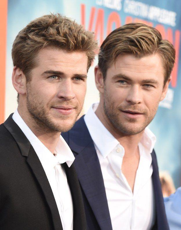 25 Pruebas de que los hermanos Hemsworth son dioses sexuales // Un poco exageradito :p
