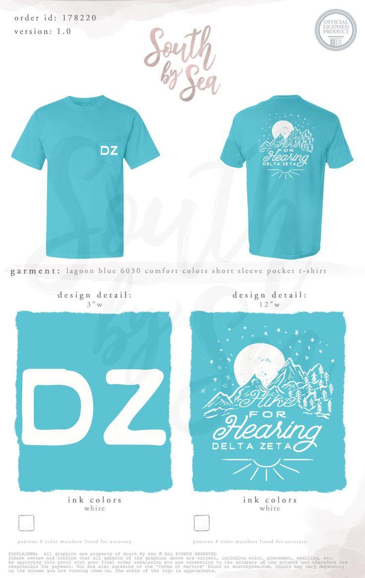 157 best delta zeta images on pinterest custom design for Greek life t shirt designs