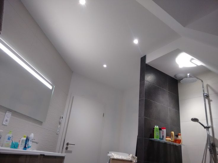 13 best Décoration éclairage LED images on Pinterest Led lights - Raccord Peinture Mur Plafond