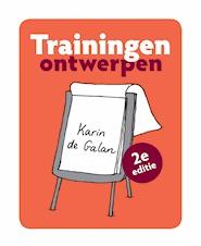 Een boek volgens de glijbaan-trap-methode van Karin de Galan om een training te ontwerpen van diagnose tot programma