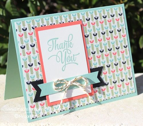 A Card Inspired by Another Card! - I Teach Stamping