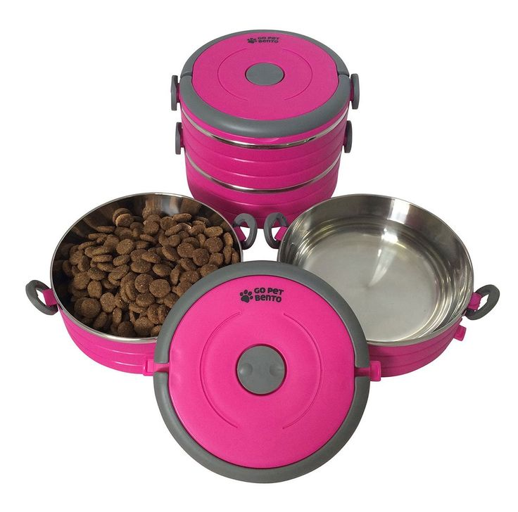 Pet Supplies : Stainless Steel Travel Dog Pet Bowl - Portable Food & Water Dog Bowls Set - 3 Size & 3 Color Options by Healthy Human : Amazon.com