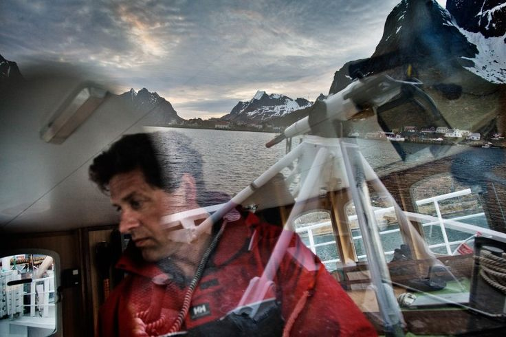 Eilert Nilsen hunts minke whale from his boat, the Nordfangst.