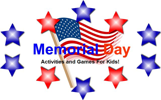 Fun and Free educational activities and games you can add to your roadschooling in honor of Memorial Day.   #memorialday #roadschooling