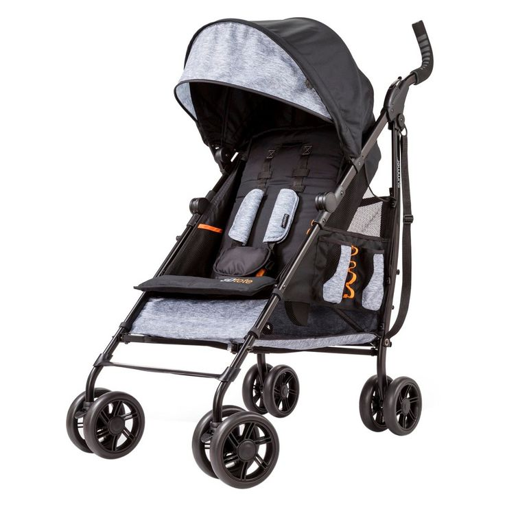Summer Infant 3Dtote Convenience Stroller (Black/Gray