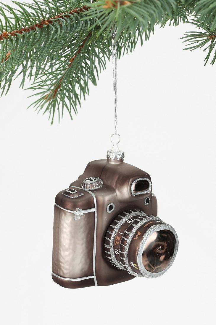 Camera christmas ornaments - Camera Ornament Urbanoutfitters Holiday