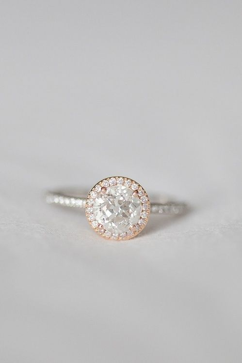 This ring is literally perfect! The rose gold and silver together is so pretty! Love it.