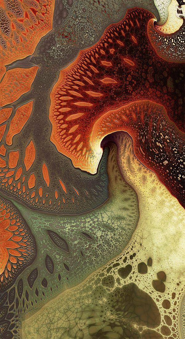 Rusted Root by ~Beesknees67 Digital Art / Fractal Art / Raw Fractals
