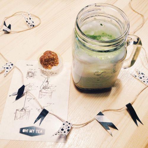 ☺️маття латте вводится медленно в меню. Невероятно нежный чай с молоком. Необычный вкус, мягкая молочная пенка. #tea #teashop #teatime #teatogo #teaforyou #spb #saintp #peterburg #saintpetersburg #stpetersburg #ohmytea #ohmytearu #ohmytea_ru #чай...