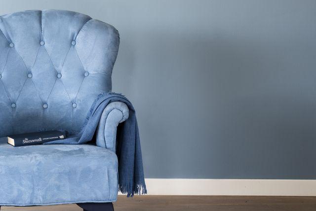 93 beste afbeeldingen over my work op pinterest vinyls poefen en houten jaloezie n - Verf grijs slaapkamer en blauw ...