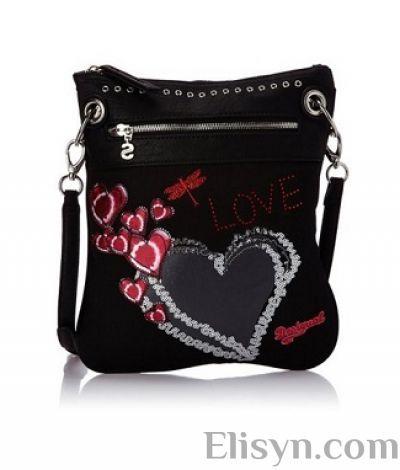 Desigual bag Bols Bando Heart www.elisyn.com #bags #desigual