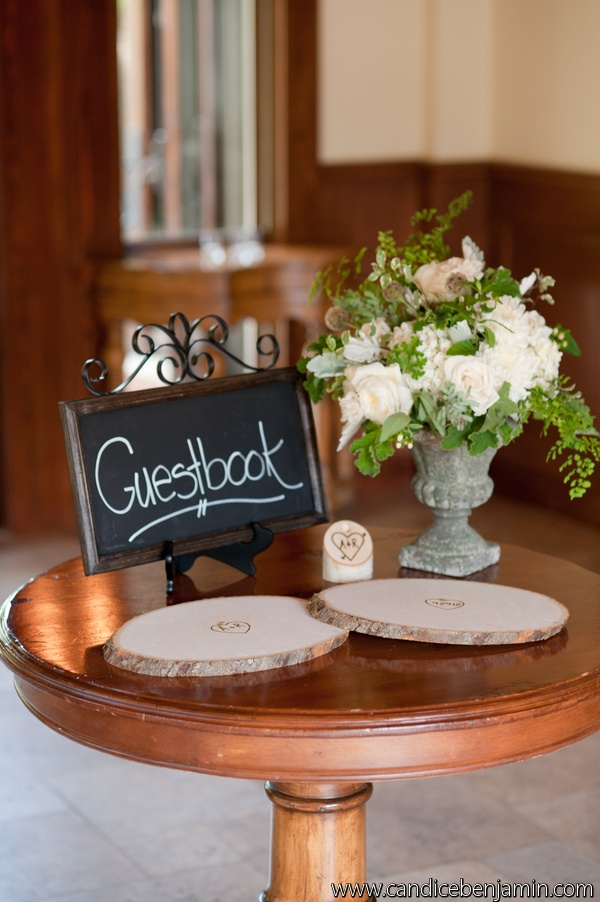 country chic wedding - Art with Nature Floral Design and Candice Benjamin Photography