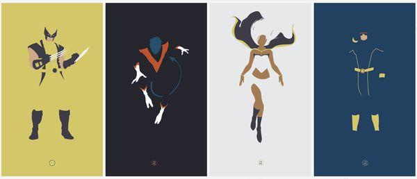 X-Men Fan Posters, Jonathan MahoneyComics Art, Fans Posters, X Men Fans, Picture-Black Posters, Comics Book, Jonathan Mahoney, Xmen Fans, Marvel Comics