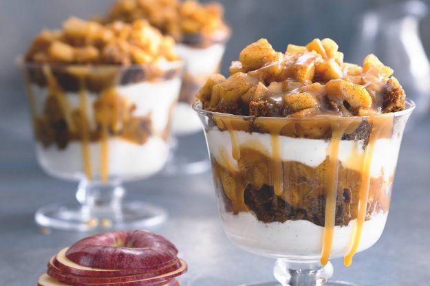 Jablečno-karamelový trifle | Apetitonline.cz