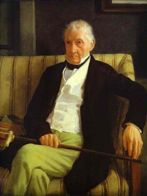 Ο παππούς του Hilaire de Gas (1857)