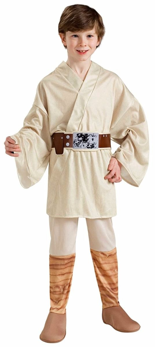 (1) Disfraz Luke Skywalker Jedi Star Wars P/ Niño. Original - $ 790.00 en MercadoLibre