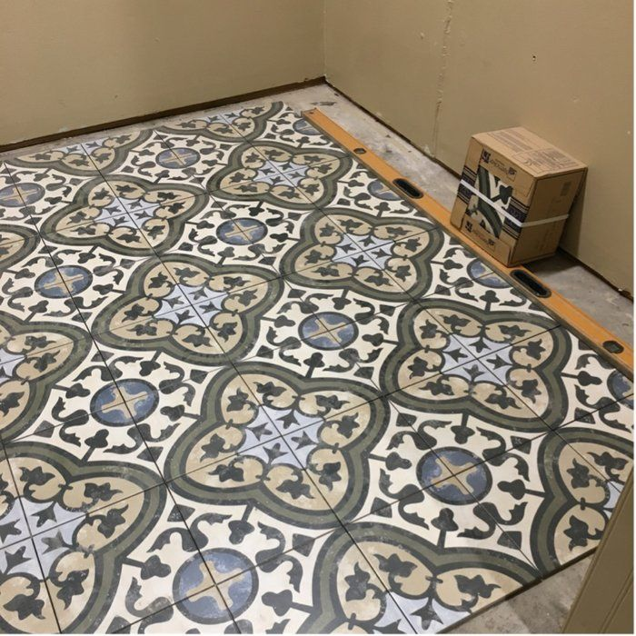 Salerno 10 X 10 Porcelain Patterned Wall Floor Tile In 2020 Flooring Merola Tile Wall Tiles