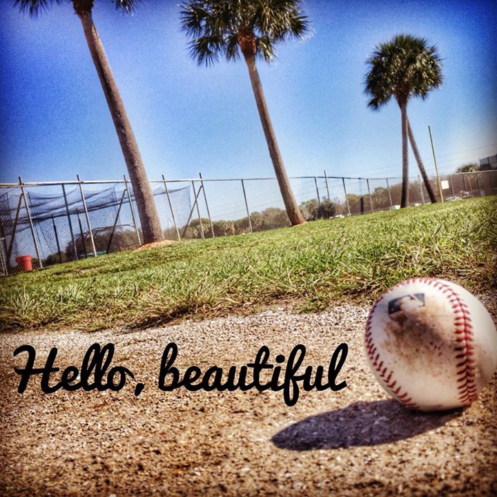 So beautiful <3 I really wish I could go back to Spring Training this year and soak in this beautiful scene again!