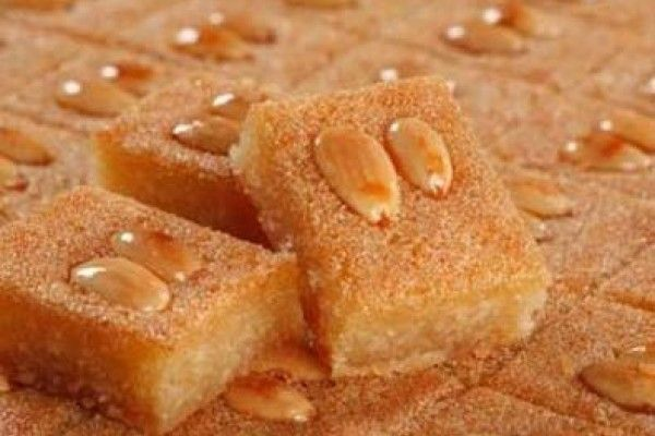 Namoura, el dulce libanés   Informe21.com #Food #Comida #Receta