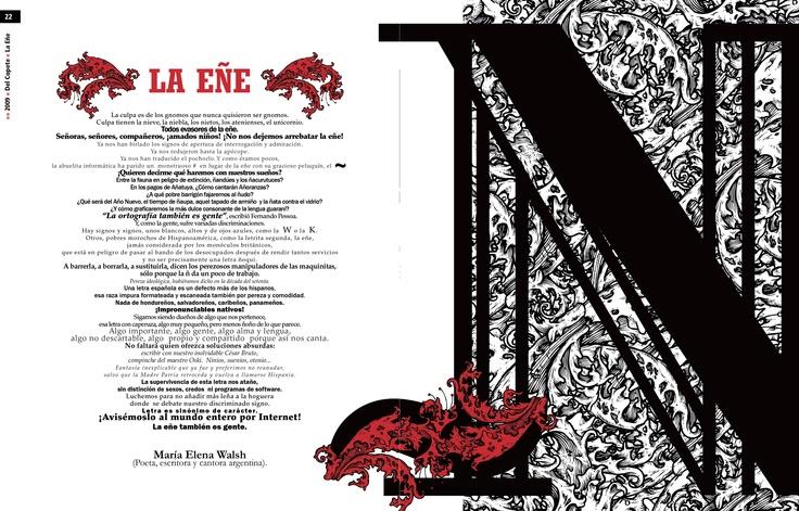 Trabajo final - Tipografía II - Cátedra Gaitto - Revista de la Cátedra - 22-33