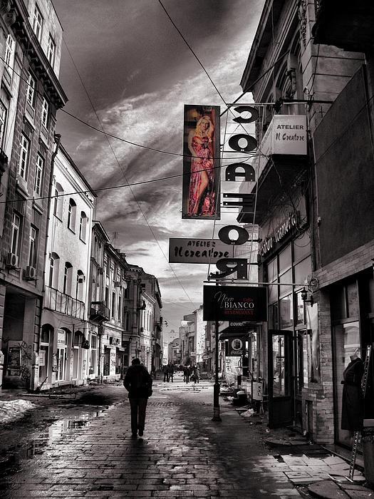 Bucharest Street by Daliana Pacuraru