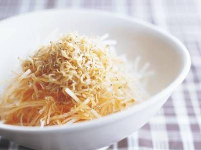 大根のカリカリじゃこかけのレシピ・作り方 - 無料レシピまとめ【レシぽん】 提供元:みんなのきょうの料理