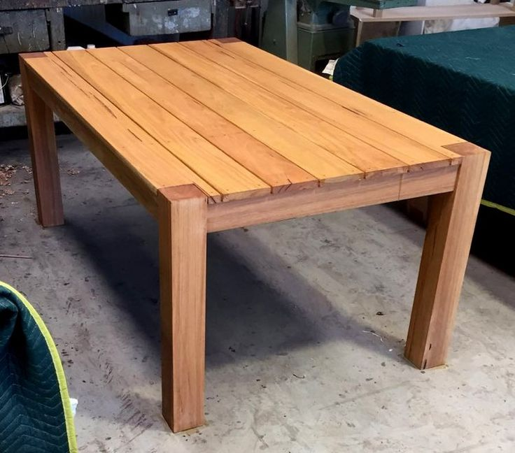 timber outdoor table Surfcoast