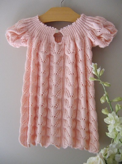 vintage baby dress crochet-and-knitting
