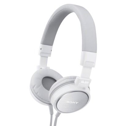 Sony Over the Head Style Headphones - White (MDR-ZX600/WHI)