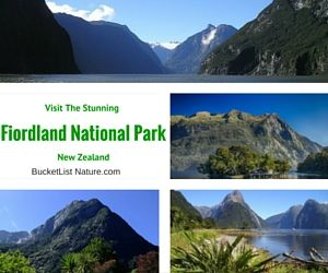 Visit the Stunning Fiordland National Park in New Zealand