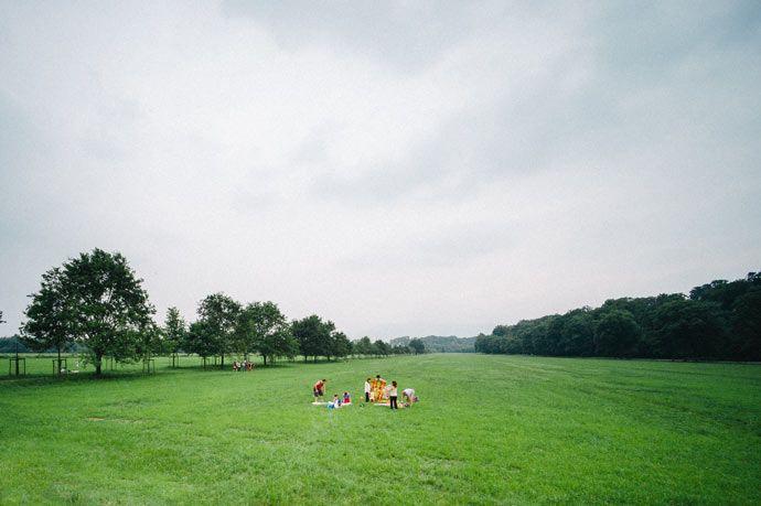 """Picnic nel parco naturale La Mandria - Serie fotografica """"Persone nella Natura"""""""