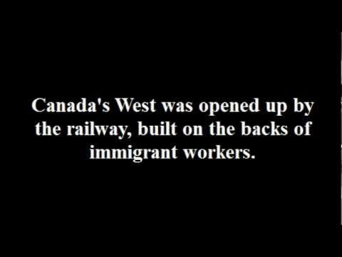 Recognition to the Chinese Laborers for the Canadian Pacific Railway (1880s)