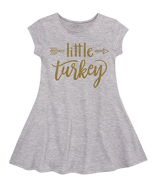 883058dc7f Take a look at this Athletic Heather Sparkle 'Little Turkey' Fit ...