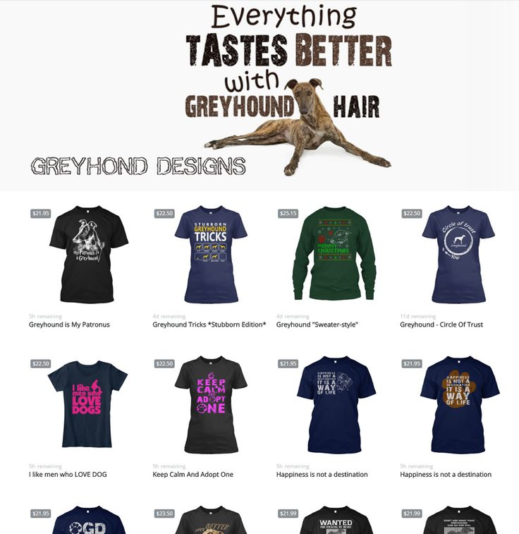 Greyhound designs by DIGOR