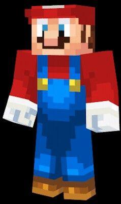 Minecraft Wii U Skins Mario Bros TMNT Micke Super Mario Bros - Skins fur minecraft wii u