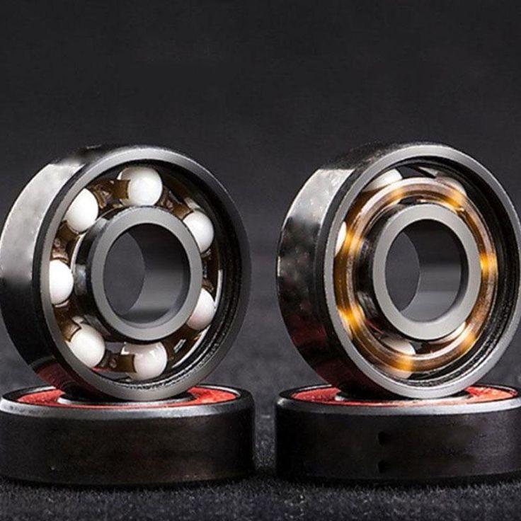 8Pcs 608 Ceramic Skate Bearing ABEC9 inline roller skate rodamientos Suit for Free Line Skate/skateboard/LongBoard Wheels