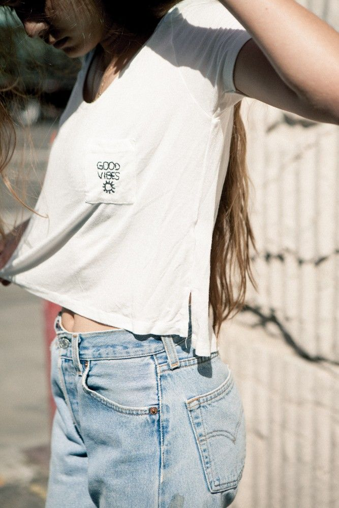 JENNAH GOOD VIBES EMBROIDERY TOP