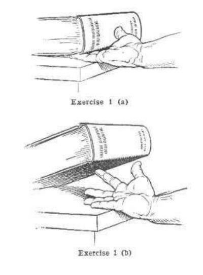 vintage oldtime strongman exercise lifting book illustration